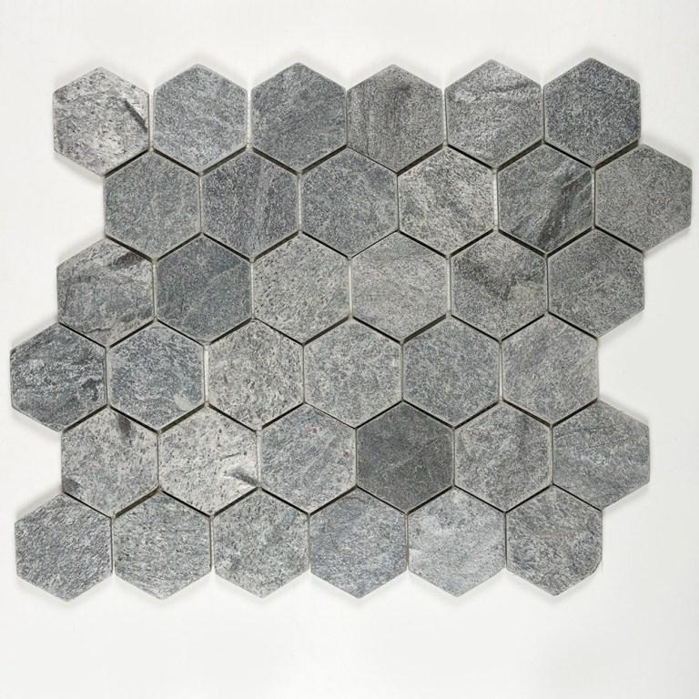 Silver-Hexagon